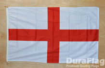 "ENGLAND ST GEORGE - 18"" x 12"" WITH ROPE & TOGGLE (45cm x 30cm)"